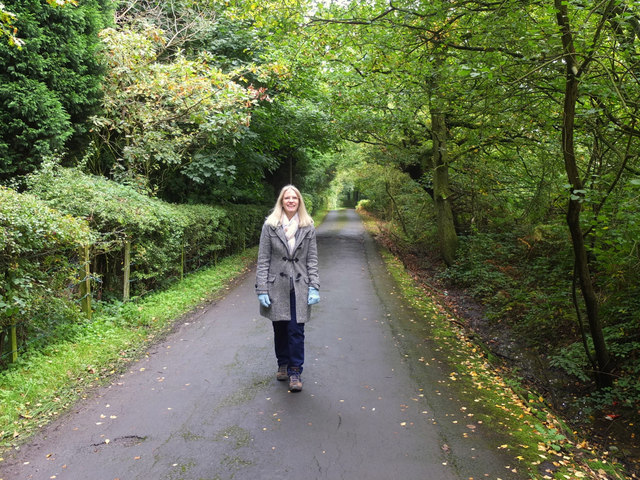 Path from Stoney Brow to College Farm, Upholland