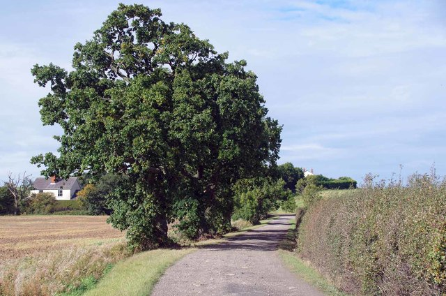 Bridleway to Foxhall Rd