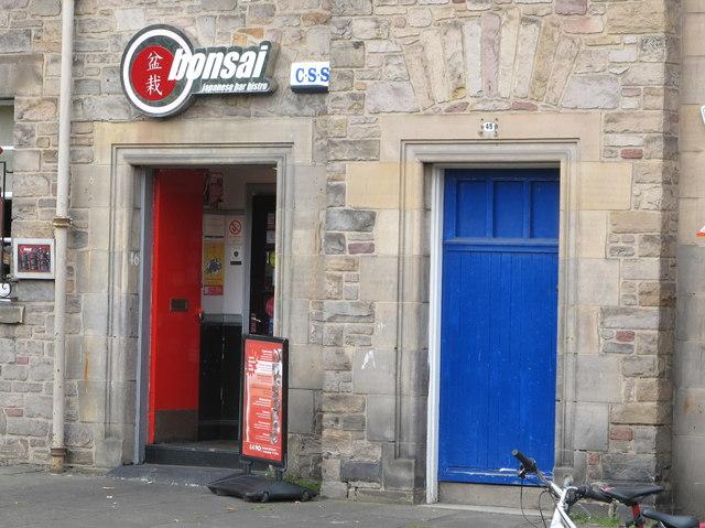 """bonsai"" Japanese bar bistro, West Richmond Street, Edinburgh"