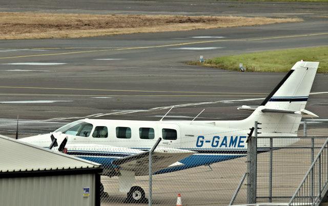 G-GAME, Belfast City Airport (September 2017)