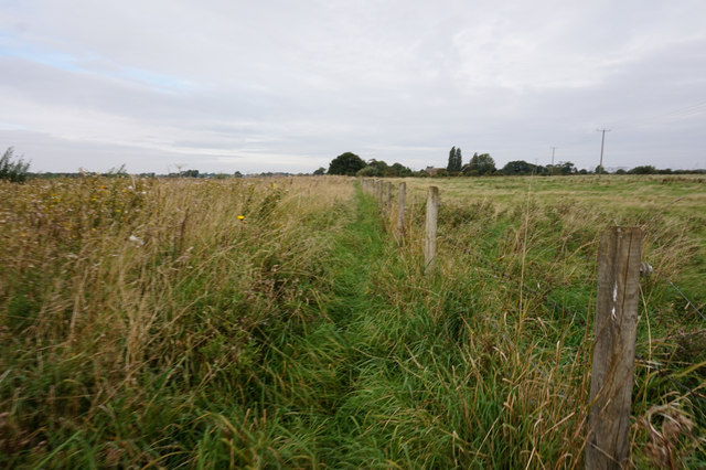 Path leading to Mauxhall Farm