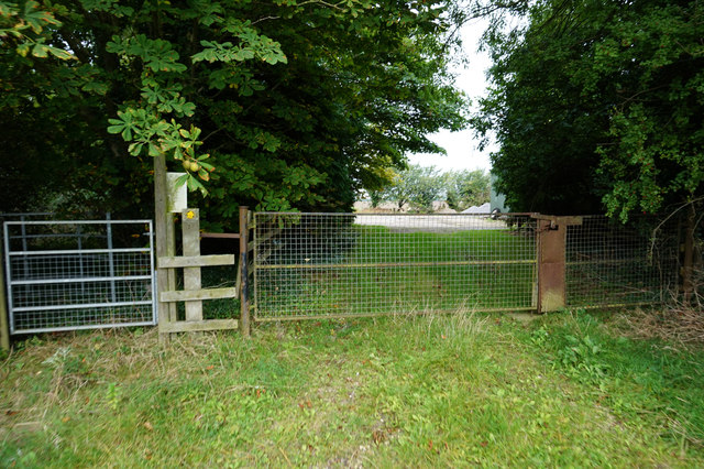 Stile at Mauxhall Farm