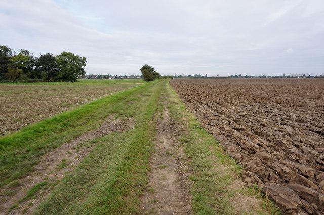 Path leading to Immingham