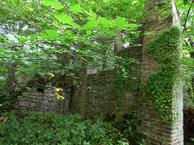 Boundary wall of the Orangery
