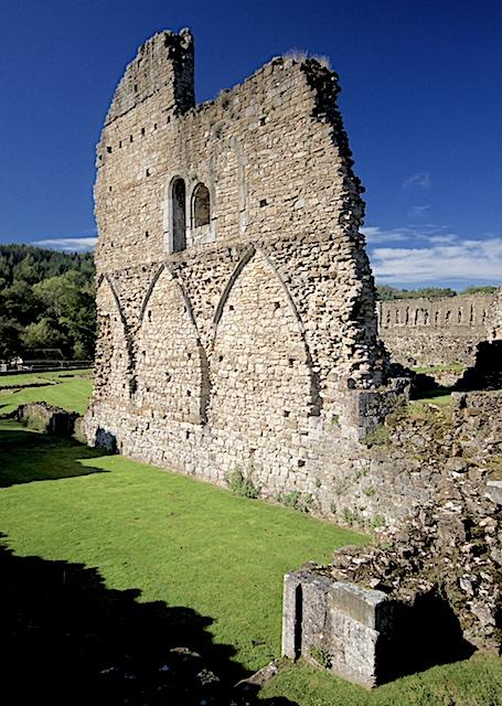 Wall at Kirkham Priory