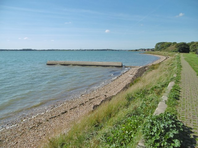 Portchester, outfall