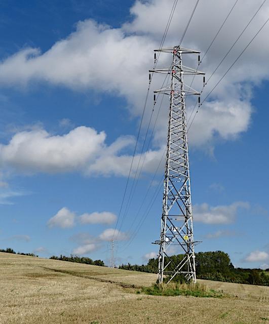 Pylons between Crambeck and Welburn