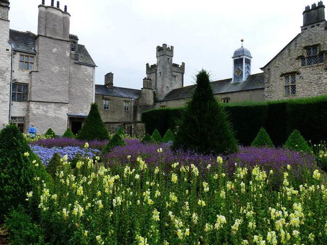 17th Century garden Levens Hall