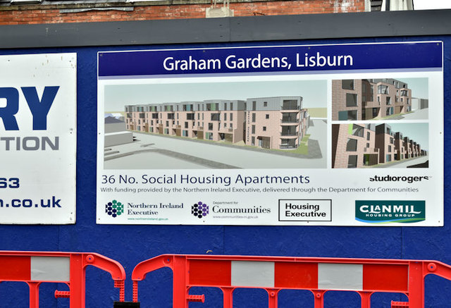 New apartments, Graham Gardens, Lisburn - September 2017(3)