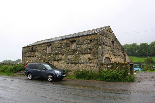 Barn at Field Gate Farm on north side of A684