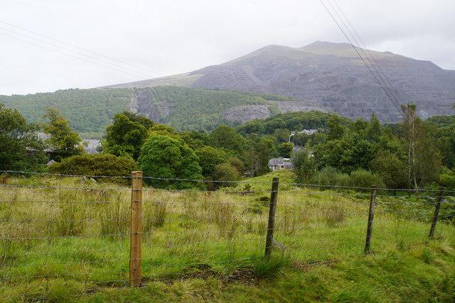Field above Llanberis