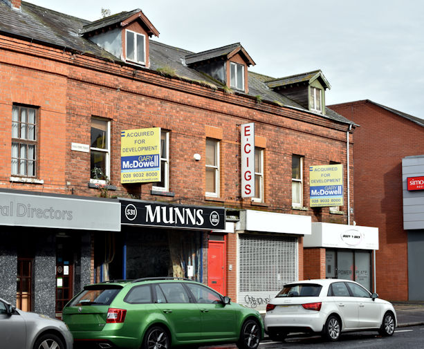 Nos 527-531 Lisburn Road, Belfast (September 2017)
