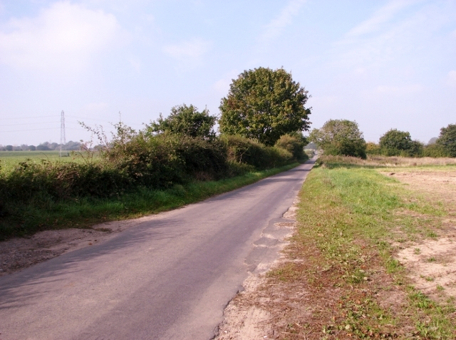 View along Long Road