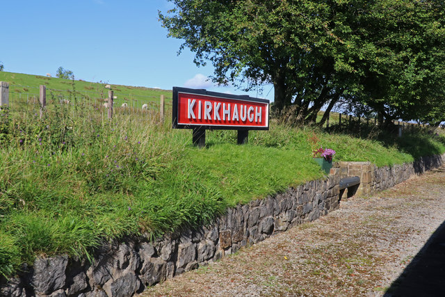 South Tynedale Railway - Kirkaugh Station