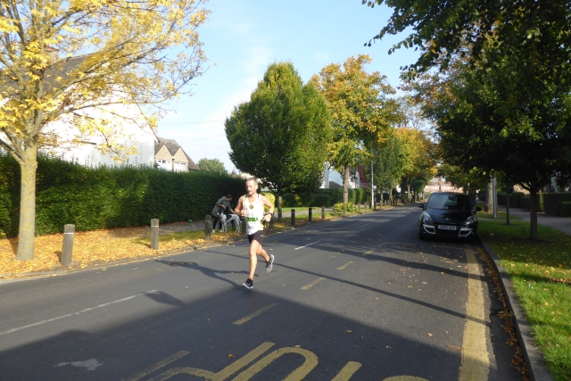 Runner on James Reckitt Avenue