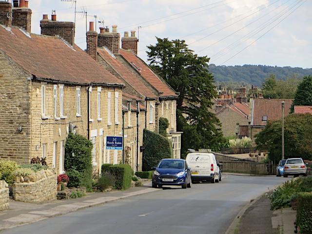 West end of Welburn
