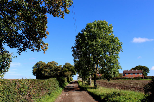 Access Lane to Church Hill Farm