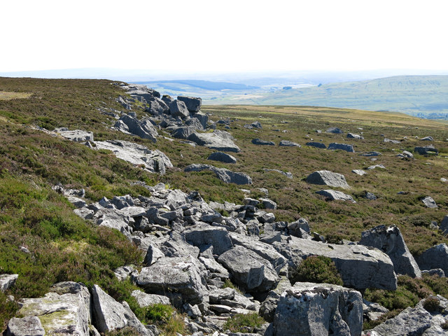 Rock outcrop on Monk's Moor (3)
