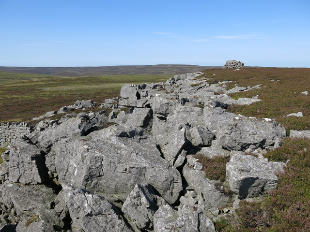 Rock outcrop and Monk's Currick