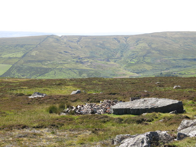 Monk's Moor above the valley of Huddeshope Beck (2)