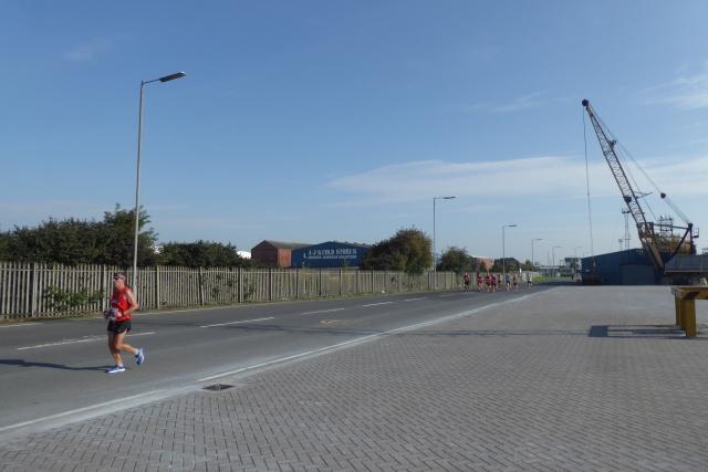 Albert Dock and Hull Marathon