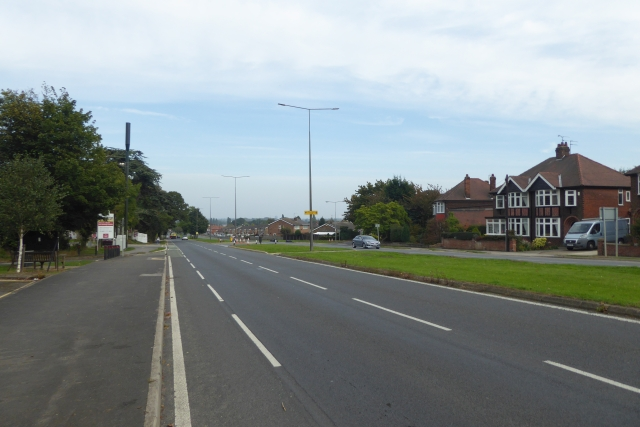 Along Boothferry Road