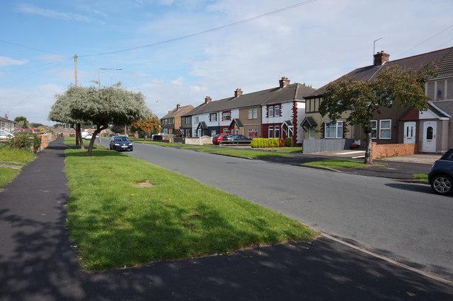 Bluestone Lane, Immingham