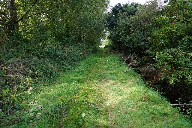 Footpath leading to  East End Farm
