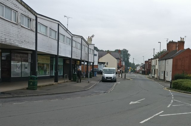 Shops on Wigston Street in Countesthorpe