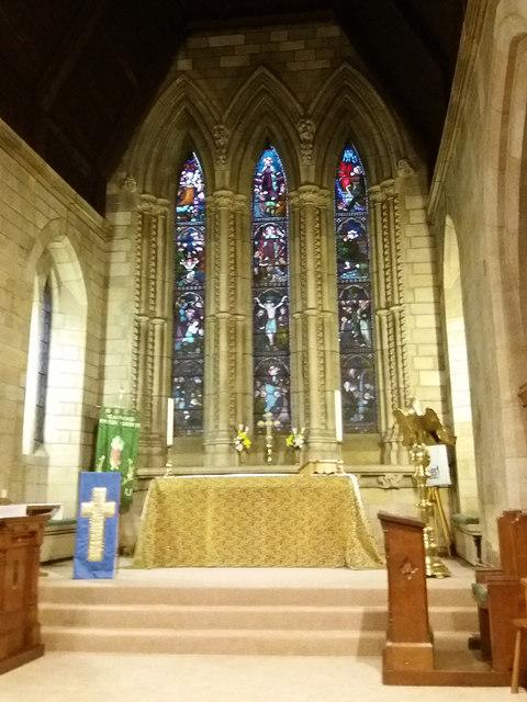 Holy Trinity church, Meanwood - chancel