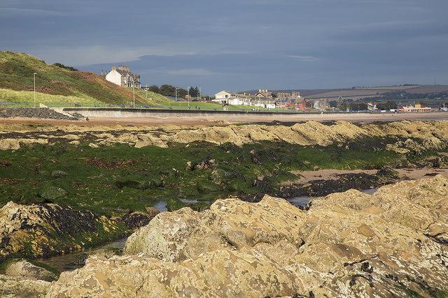 Coastal rocks below Toppye Knowe