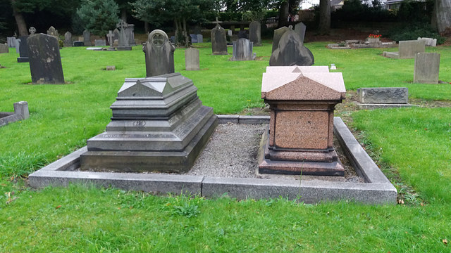 Graves of Samuel Smith and family