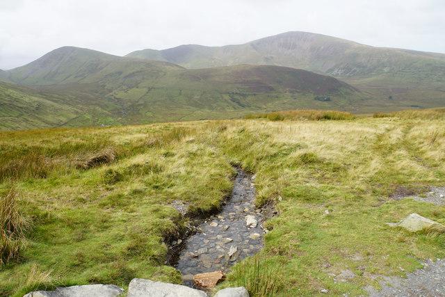 Small stream above Hafodty Newydd