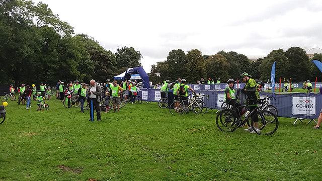 HSBC City Ride 2017, Leeds - Woodhouse  Moor