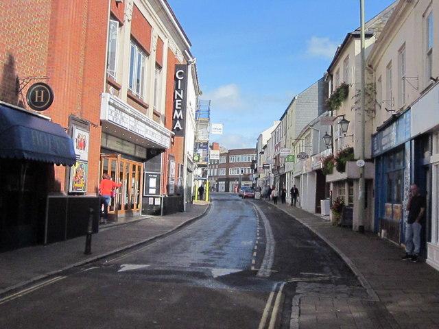 Boutport Street Barnstaple