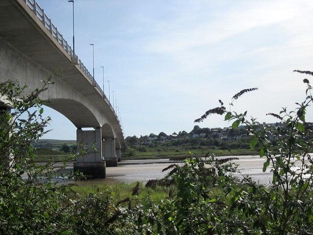 A361 Bridge Crossing The Taw