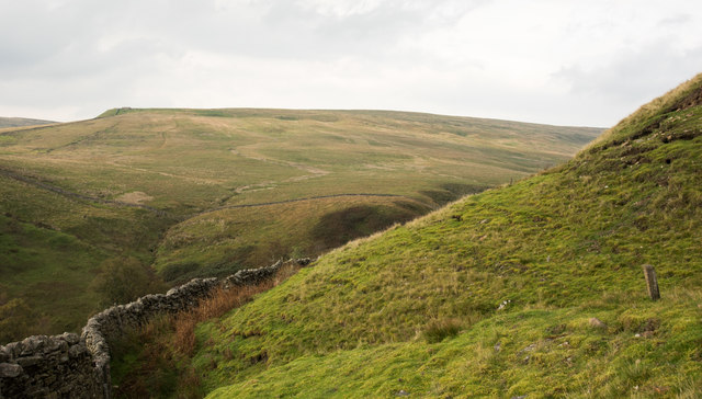 Slopes of Fossdale Gill