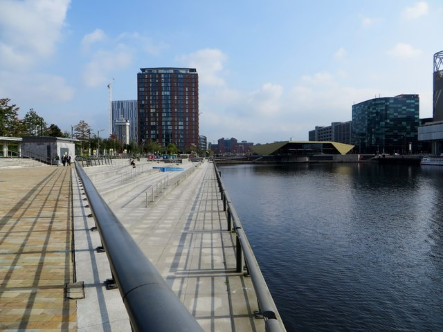 Canalside at Salford Quays
