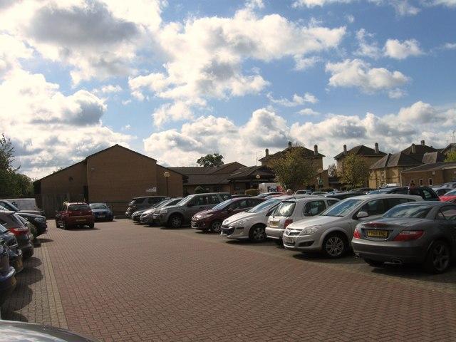 Hospital car park