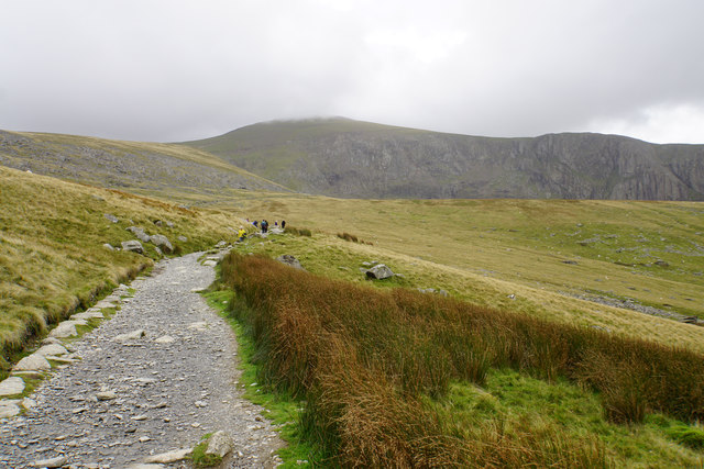 Llanberis Path above Halfway House