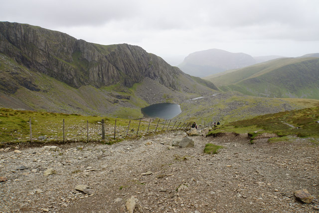 Llanberis Path below Clogwyn