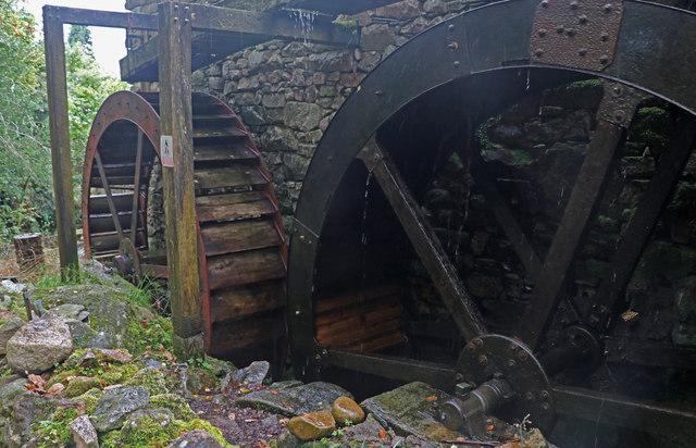 Waterwheels, Eskdale Mill