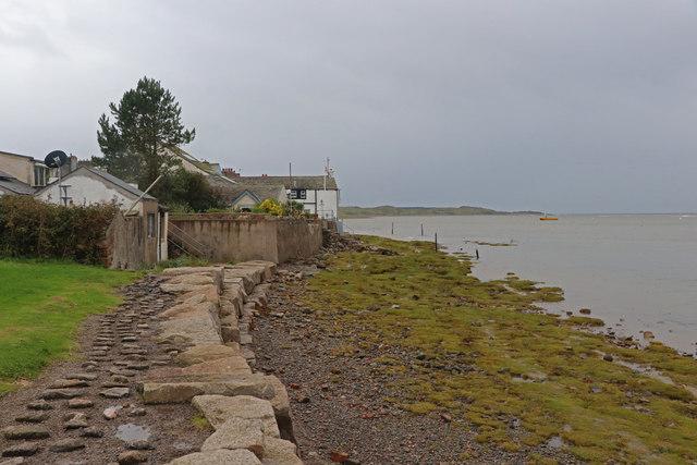 The Esk estuary at Ravenglass