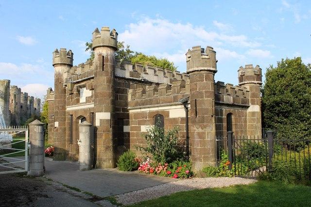 Toll House for Telford's Suspension bridge