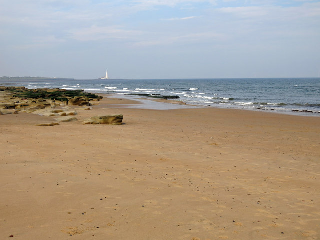 Rocks on Whitley Sands