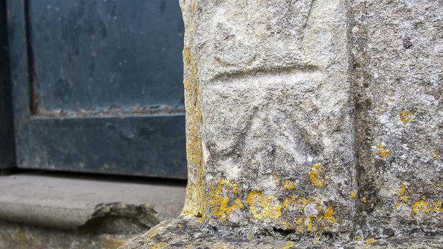 Bench Mark, Blaise Castle near Bristol