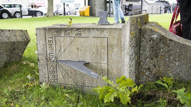 Damaged Market Cross, Ilchester