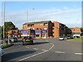 TL0422 : Poynter's Road Roundabout by M J Richardson
