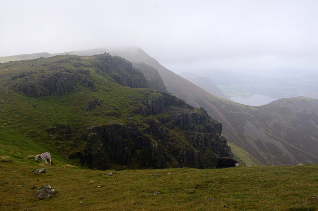 Above Chapel Crags