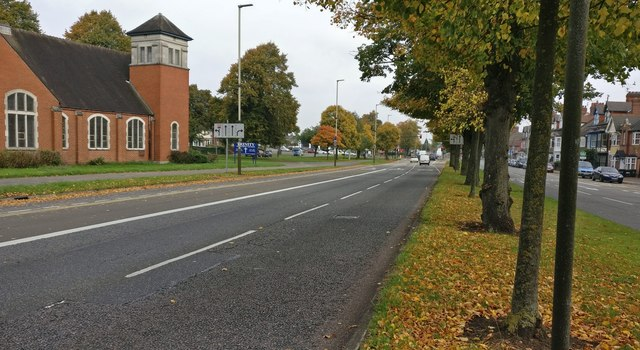 Trinity Methodist Church and Narborough Road South